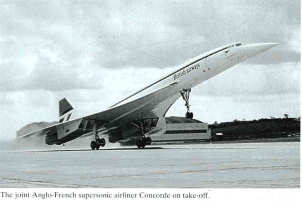 Concorde Taking Off