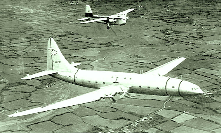 Brabazon and Bristol Freighter